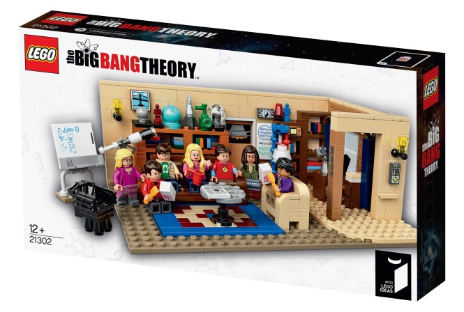 Lego IDEAS Big Bang Theory Box