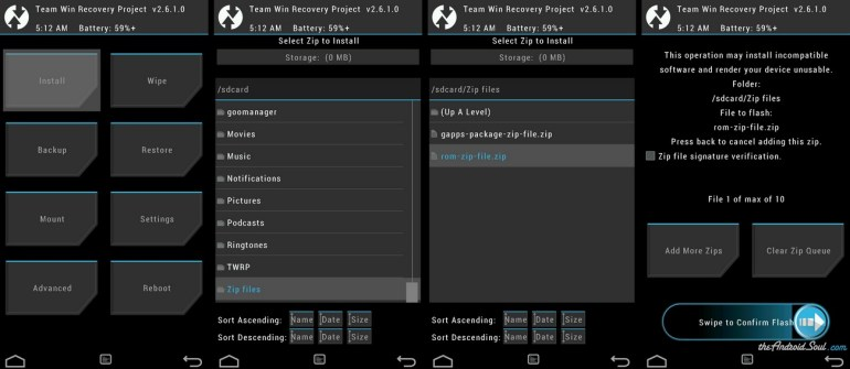 How to Flash Using TWRP Recovery
