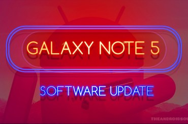 Galaxy Note 5 update