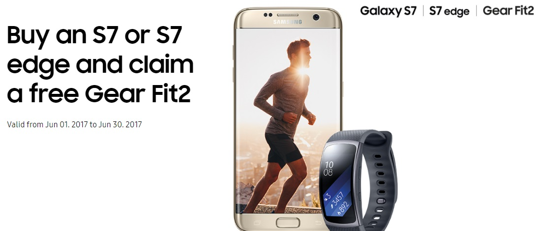 Deal] Samsung offering Gear Fit 2 for free with Galaxy S7