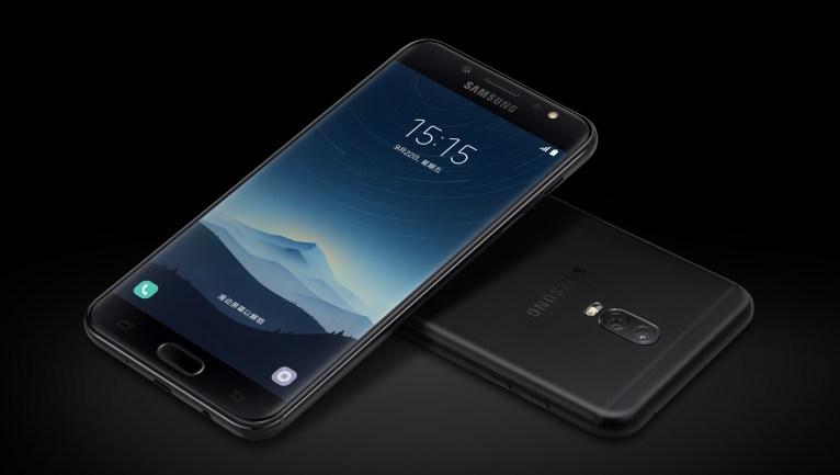 Galaxy c8 in black