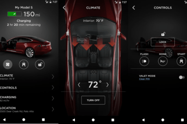 tesla android update