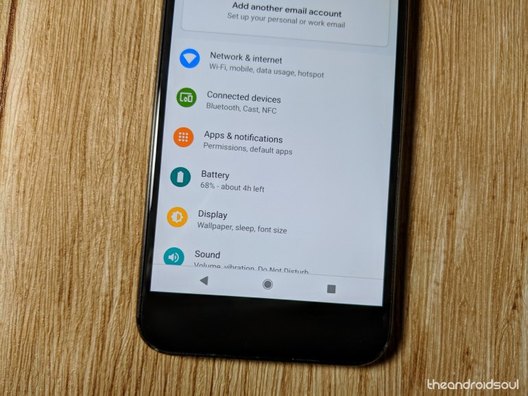 Android P battery issues