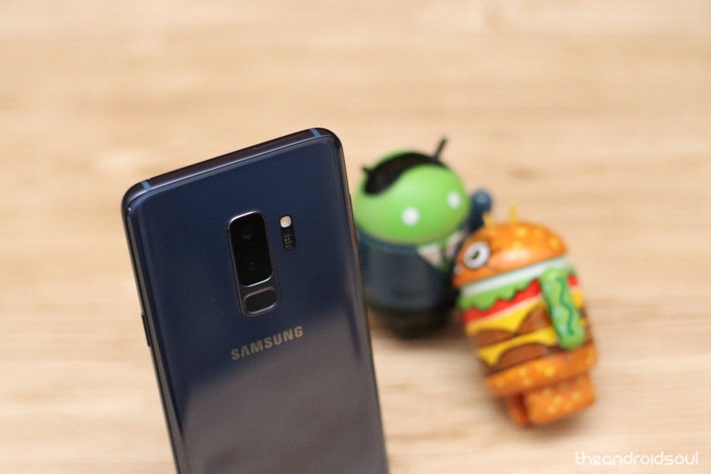 Galaxy S9+ update