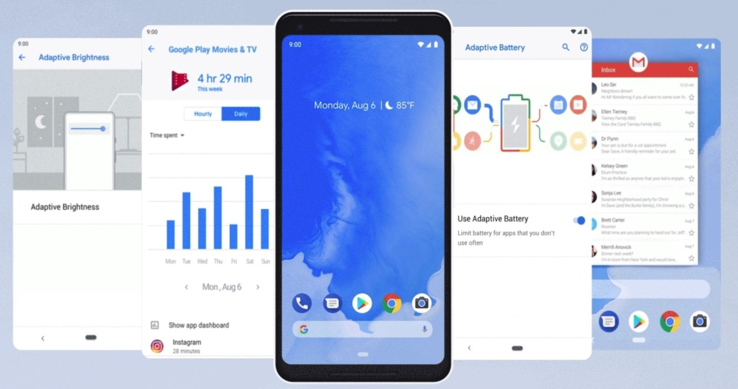 Android Pie easy rollout