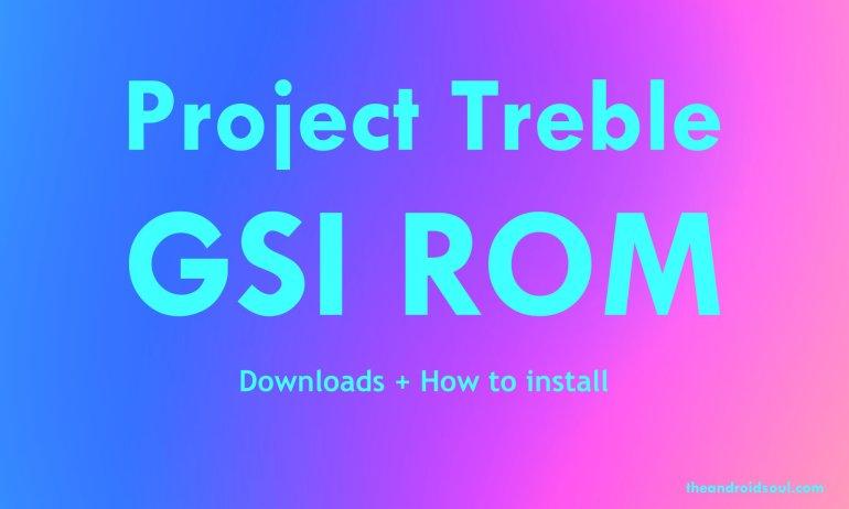 project treble rom