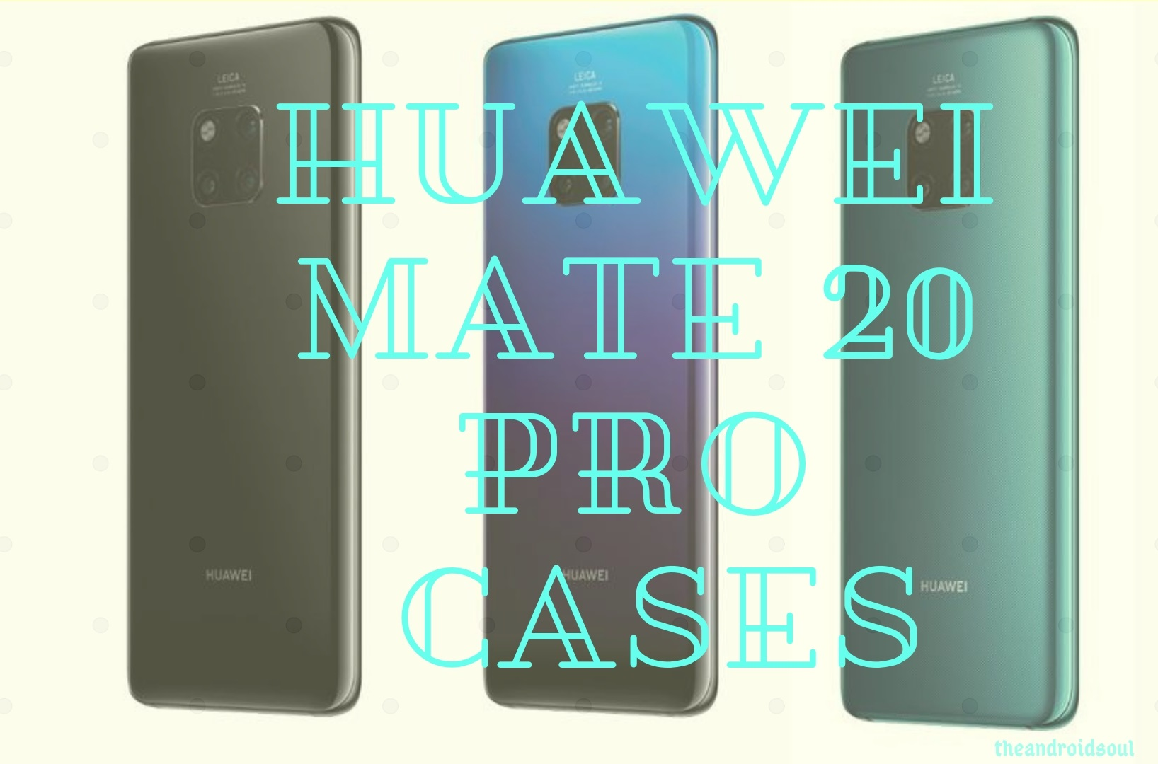 huawei mate 20 pro cases