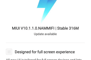 Redmi 4 MIUI 10 update