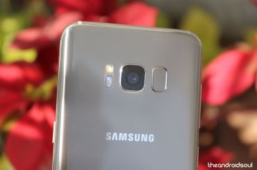 Galaxy S8 Pie beta