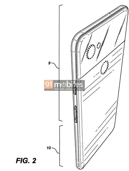 Google Pixel 4 patent-1