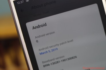 Downgrade to Android Pie