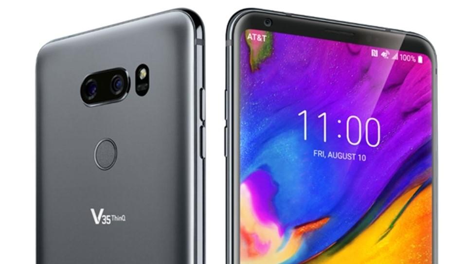 LG V35 AT&T February 2019 update
