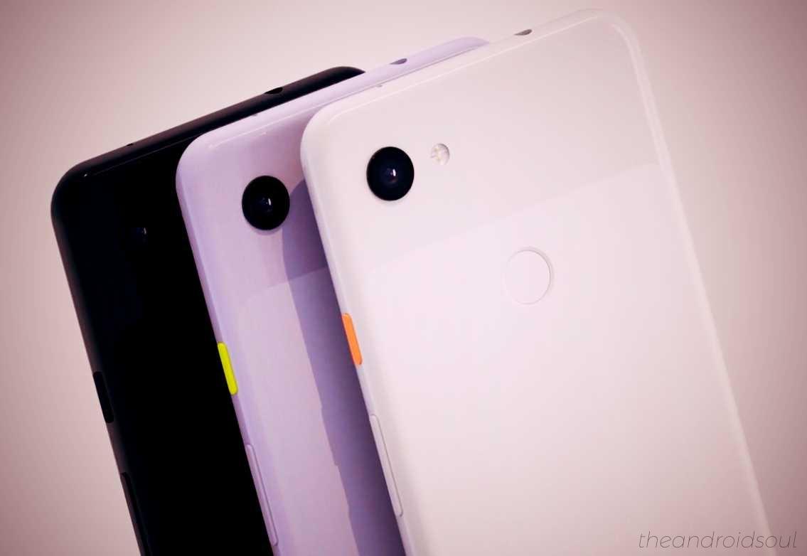 Google Pixel 3a accessories