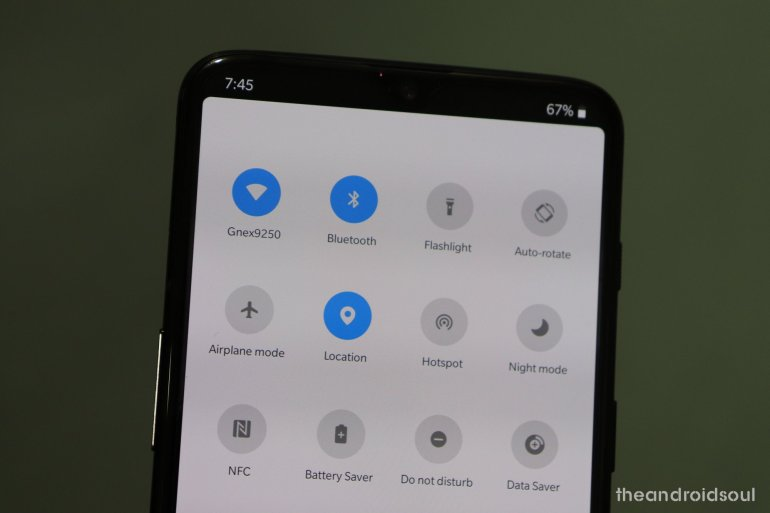 OnePlus 6T zenmode screen recorder camera from OnePlus 7 Pro