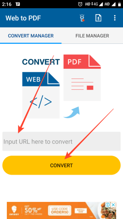 convert web to PDf step (1)