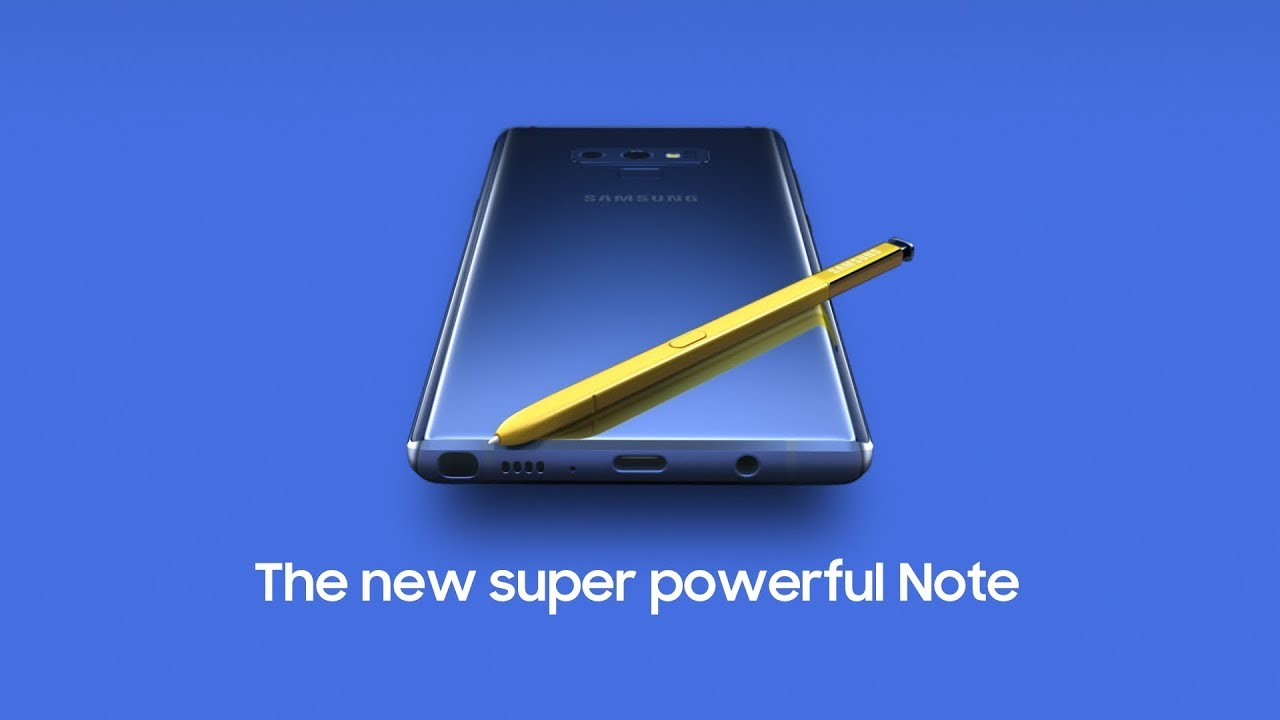 Galaxy Note 9 software update