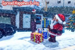 Santa Christmas Moto Gift Delivery -3