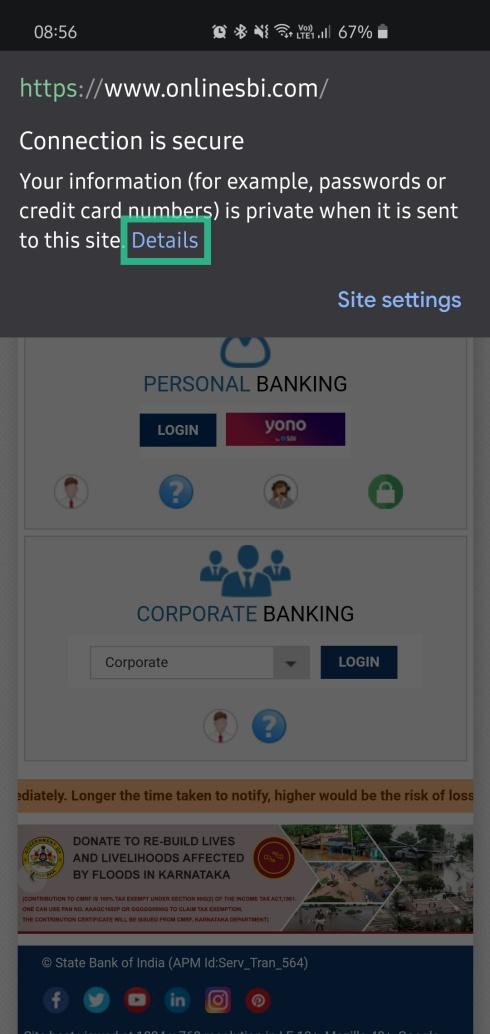 safely use Internet banking 3