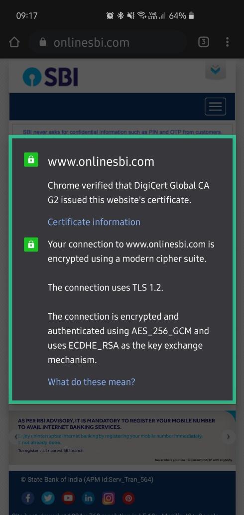 safely use Internet banking 4