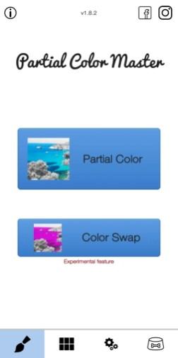Partial color master-1