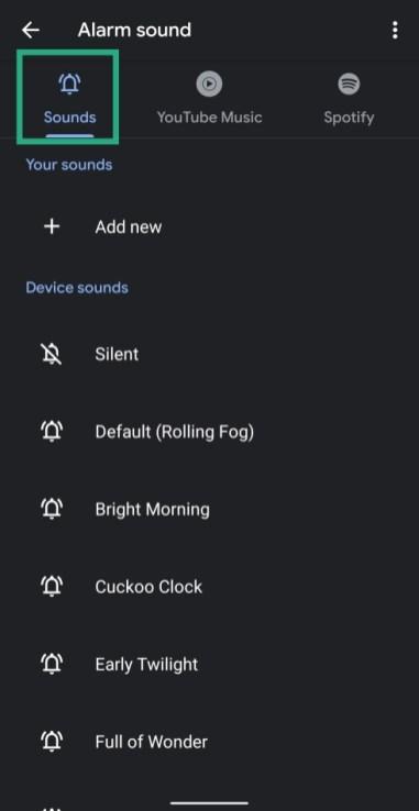set music as alarm-3-a
