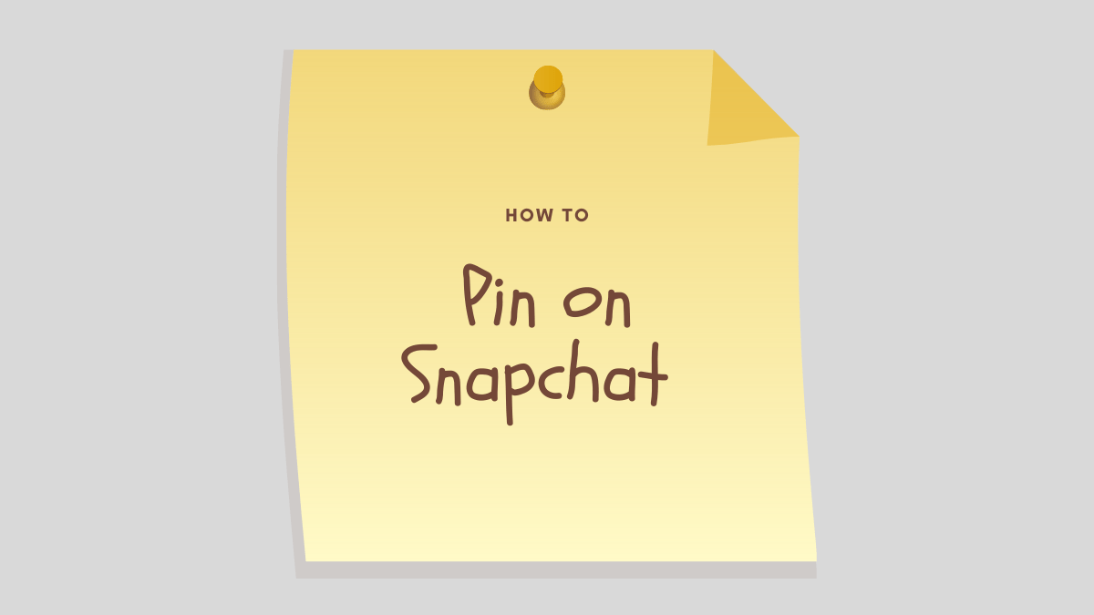 How to pin on Snapchat