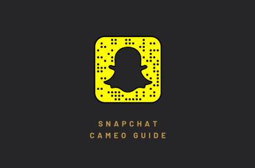 Snapchat cameo guide
