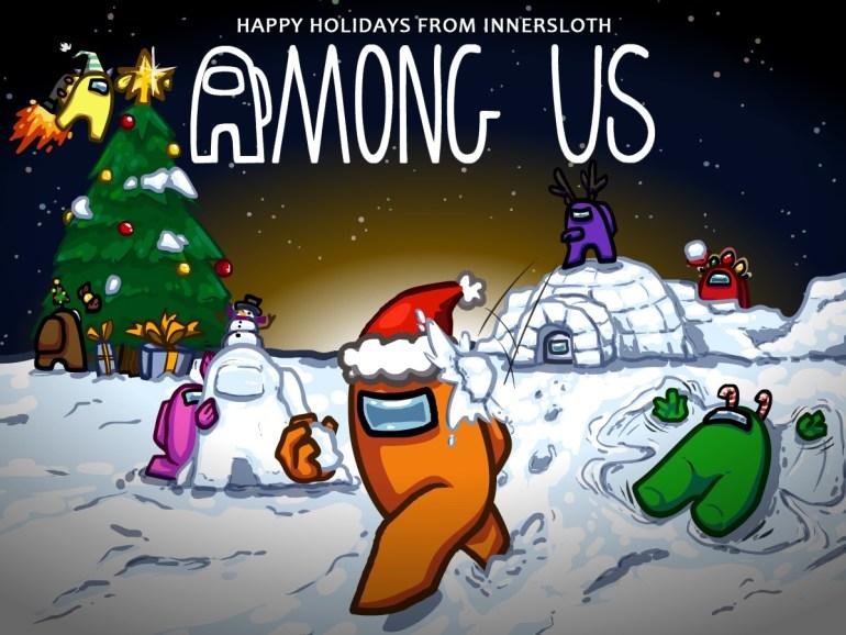 Among Us Christmas