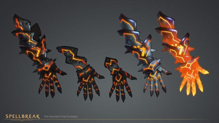 Spellbreak Fire Gauntlet