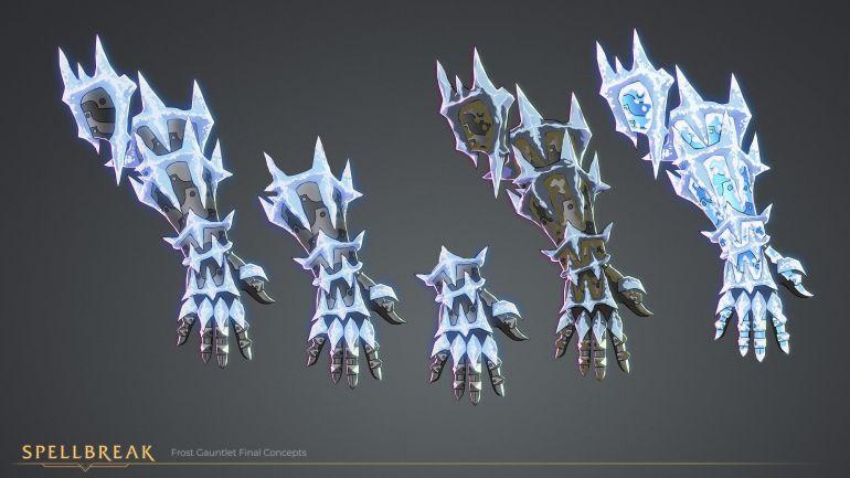 Spellbreak Ice Gauntlet