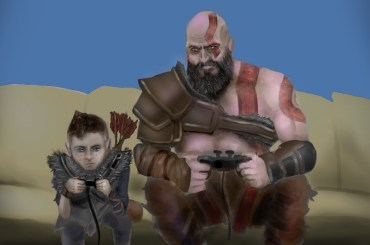 God of War: Ragnarok Custom Image