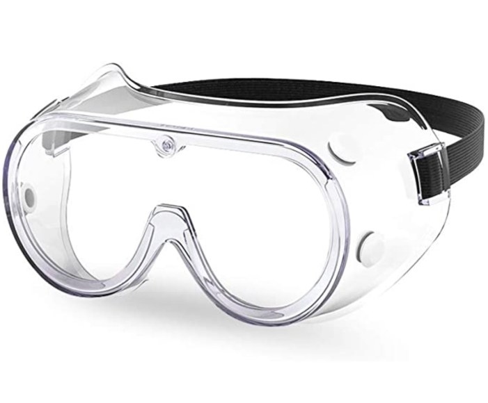 Among Us Halloween Costume Rounded Chemistry Goggles