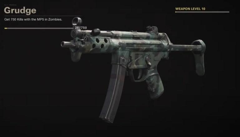 Black Ops Cold War Zombies Camo Challenges - Grudge