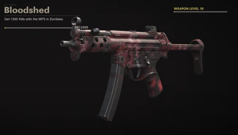 Black Ops Cold War Zombies Camo Challenges - Bloodshed