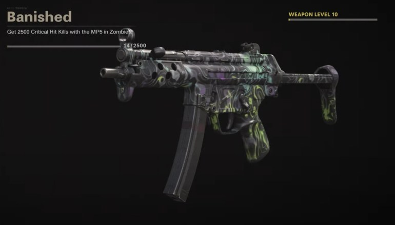 Black Ops Cold War Zombies Camo Challenges - Banished