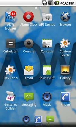 ADW.Launcher for android