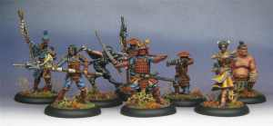 I found a line of painted miniatures that interested me.