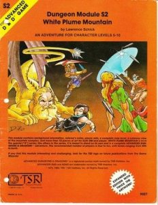White Plume Mountain