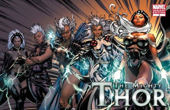 Storm vs. Thor
