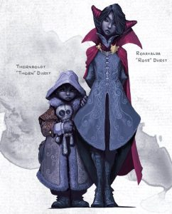 rose and thorn curse of strahd