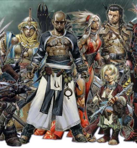 dungeons and dragons characters