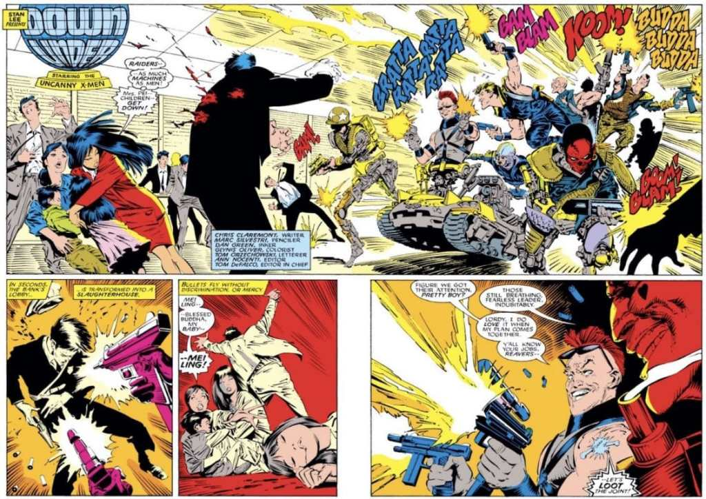 X-Men Reavers Introduced