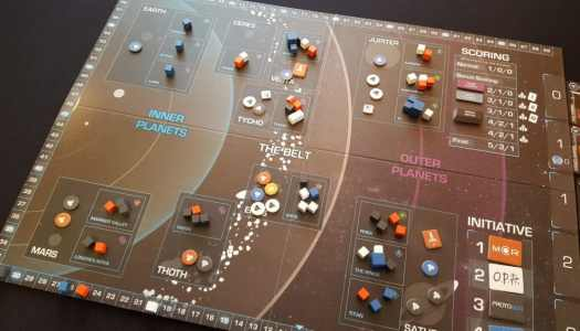 Science Fiction Cardboard: A Review of The Expanse Board Game
