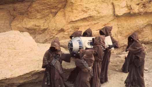 What do the Jawas of Tatooine have to do with the American Flea Market Industry?
