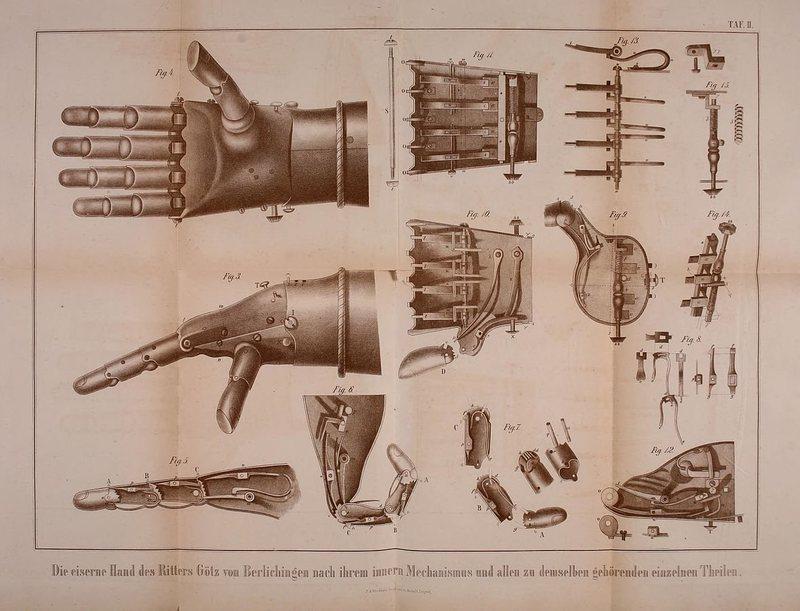 Iron Hand: Model 2