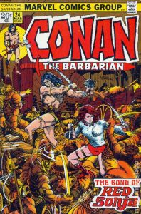 Conan the Barbarian #s 23-24 (The Shadow of the Vulture/The Song of Red Sonja)