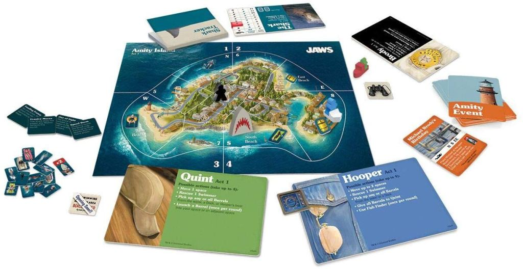 Jaws tabletop game Act 1