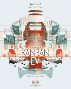 The cover for the board game Kanban EV