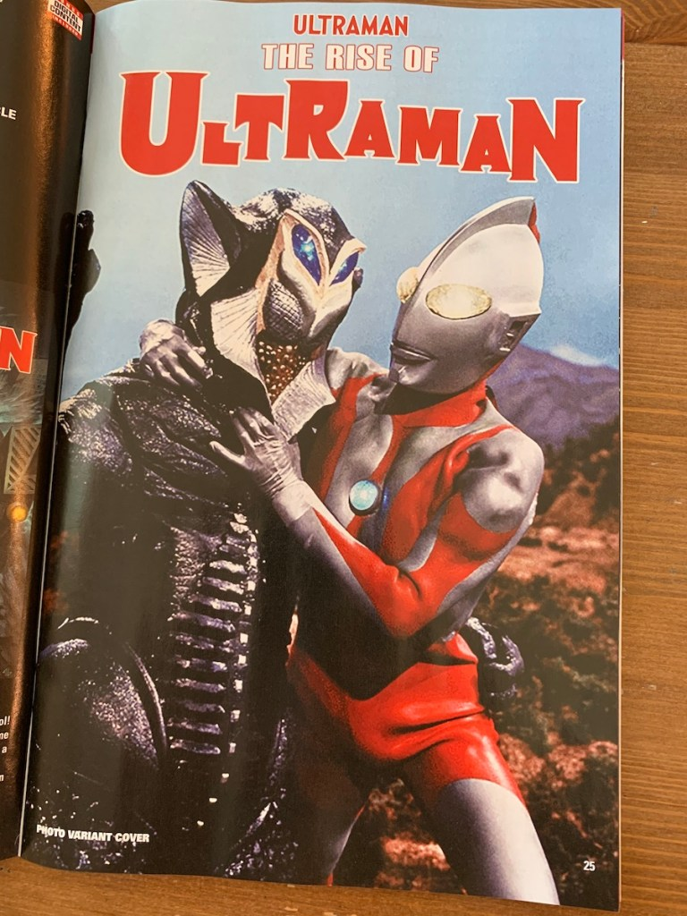 marvel comics previews ultraman
