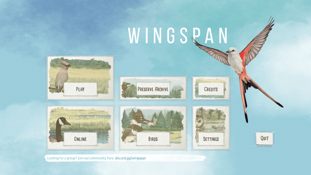 Wingspan Digital App